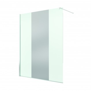Paravan de dus Walk-in Pur 120x200,sticla securizata de 8mm,decor Chrome Mirror-66