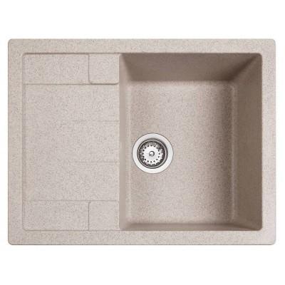 Chiuveta ASTRAL 45B TG 1B 1D Sandbeige 650X500 TEKA