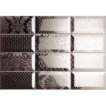 Decor York Brocado Plata 31x45