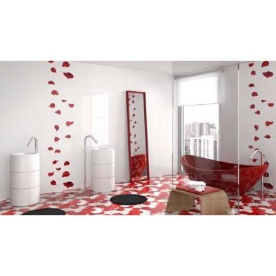 Colectia Sfera Blanco&Rojo 30x70